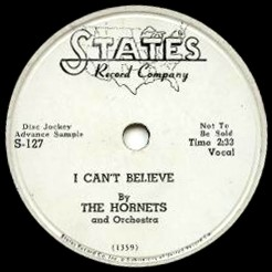 The Hornets - I Can't Believe