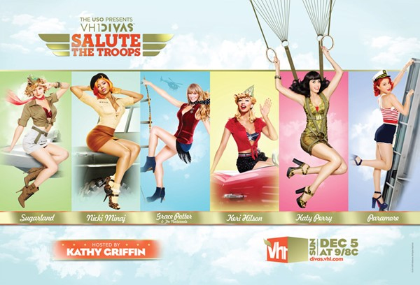VH1 Divas Salute The Troops (Katy Perry, Paramore, Sugarland, Nicki Minaj, Grace Potter, Keri Hilson)