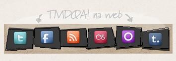 Encontre o TMDQA! nas Redes Sociais