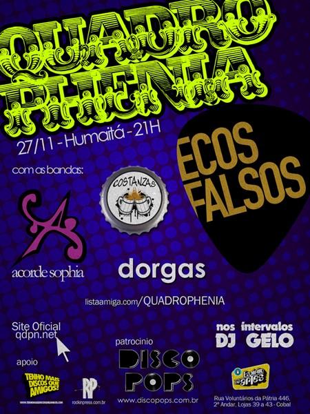 Festival Quadrophenia no Rio de Janeiro