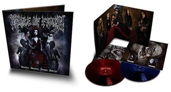 novo álbum do cradle of filth disponível em vinil