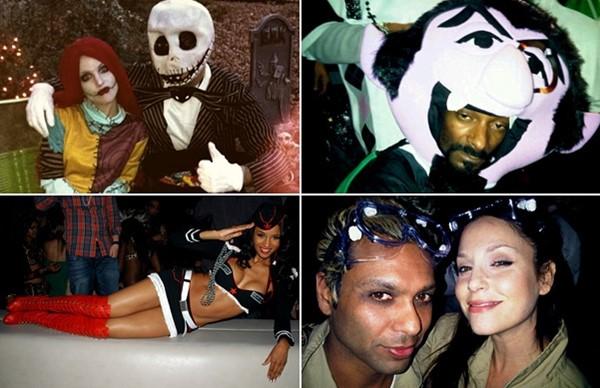 veja as fantasias de halloween dos músicos