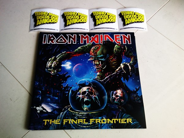 Iron Maiden - The Final Frontier (LP Duplo)