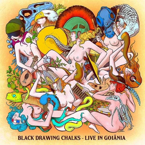 Black Drawing Chalks - Live in Goiânia