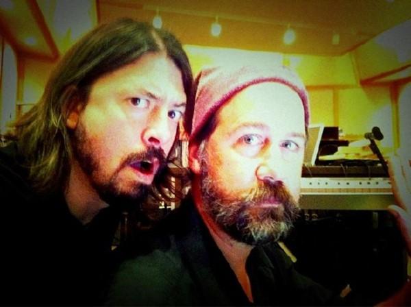 Dave Grohl e Krist Novoselic