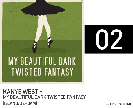 Kanye West - My Beautiful Dark Twisted (Vahalla Studios)