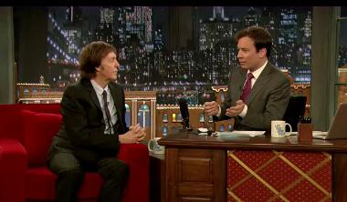 Paul McCartney faz dueto com Jimmy Fallon