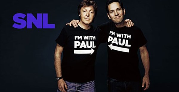Paul McCartney no Saturday Night Live