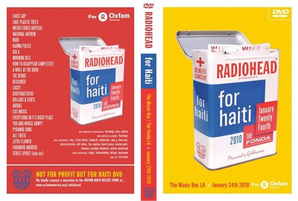 Radiohead concert for Haiti
