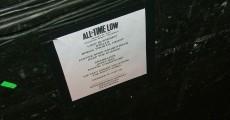 Setlist do All Time Low em Campinas - 21/01/2011 - Márcio Colombia