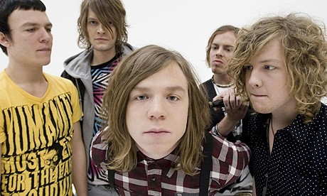 Cage The Elephant no programa de David Letterman