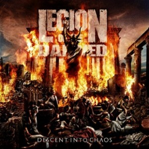 Legion Of The Damned - Descent Into Chaos - Versao Simples