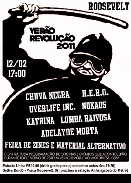 Verão Revolução dia 15 de Fevereiro