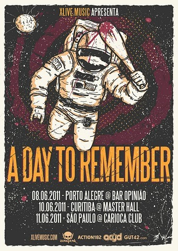 A Day To Remember no Brasil