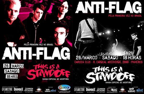 Anti-Flag no Brasil