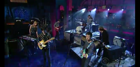 Bright Eyes no Letterman