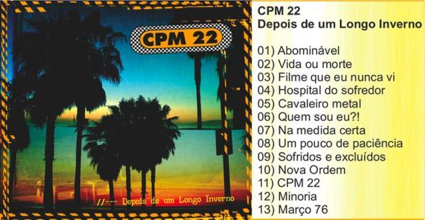 cd novo cpm 22 depois de um longo inverno