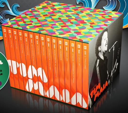 Coleção Tim Maia com 15 discos