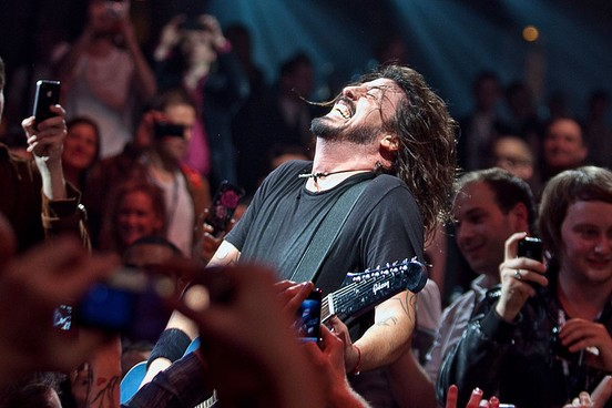 Dave Grohl no Shockwaves NME Awards