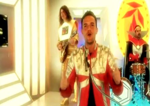 The Killers no programa infantil Yo Gabba Gabba