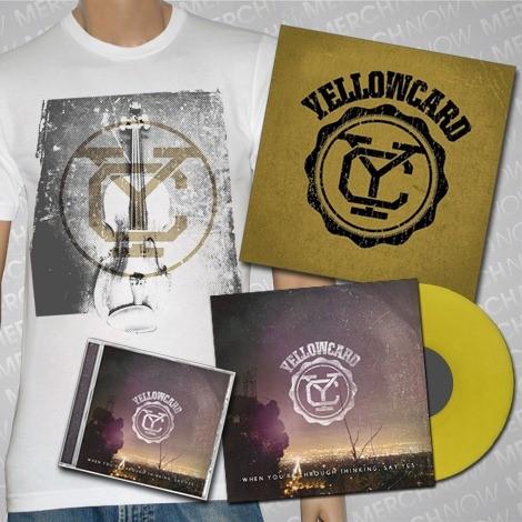 Yellowcard - When You're Through Thinking, Say Yes - Mega Bundle