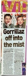 Boato sobre o fim do Gorillaz