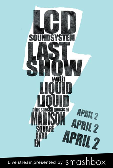 último show do LCD Soundsystem vai ser transmitido ao vivo pela internet