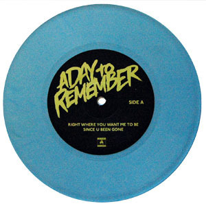 A Day To Remember - Attack Of The Killer B-Sides - vinil azul bebê