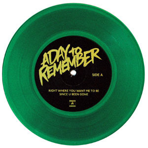 A Day To Remember - Attack Of The Killer B-Sides - vinil verde