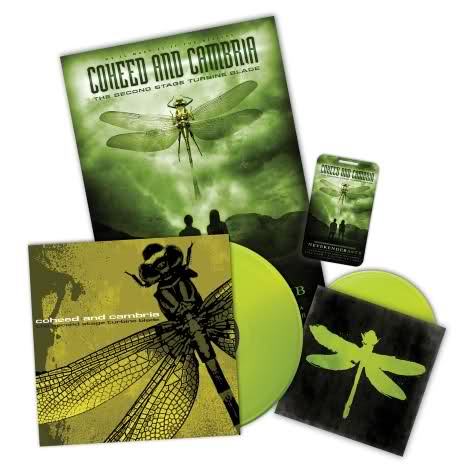 Coheed And Cambria - The Second Stage Turbine Blade bundle