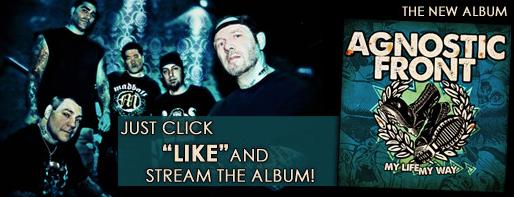Ouça o novo disco do Agnostic Front na íntegra