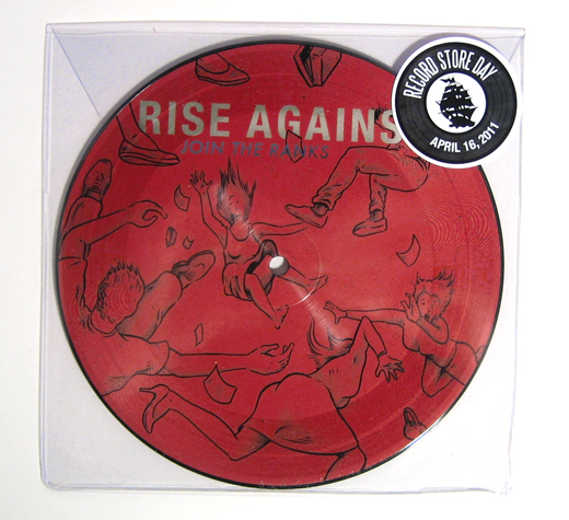Rise Against lançará disco de vinil para o Record Store Day