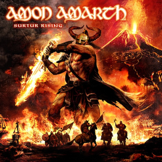 Novo album do Amon Amarth liberado para streaming