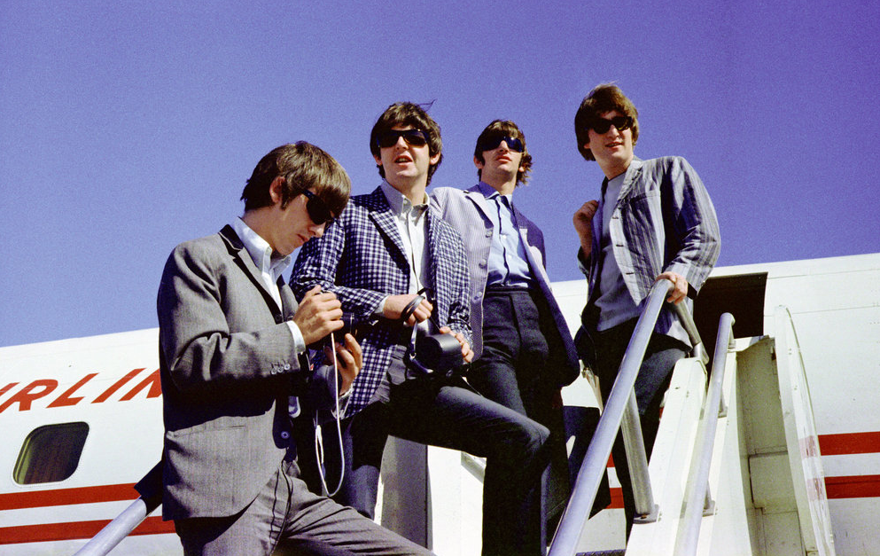The Beatles no aeroporto de Seattle