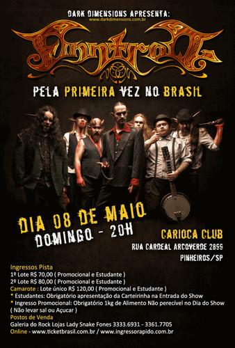 Finntroll no Brasil