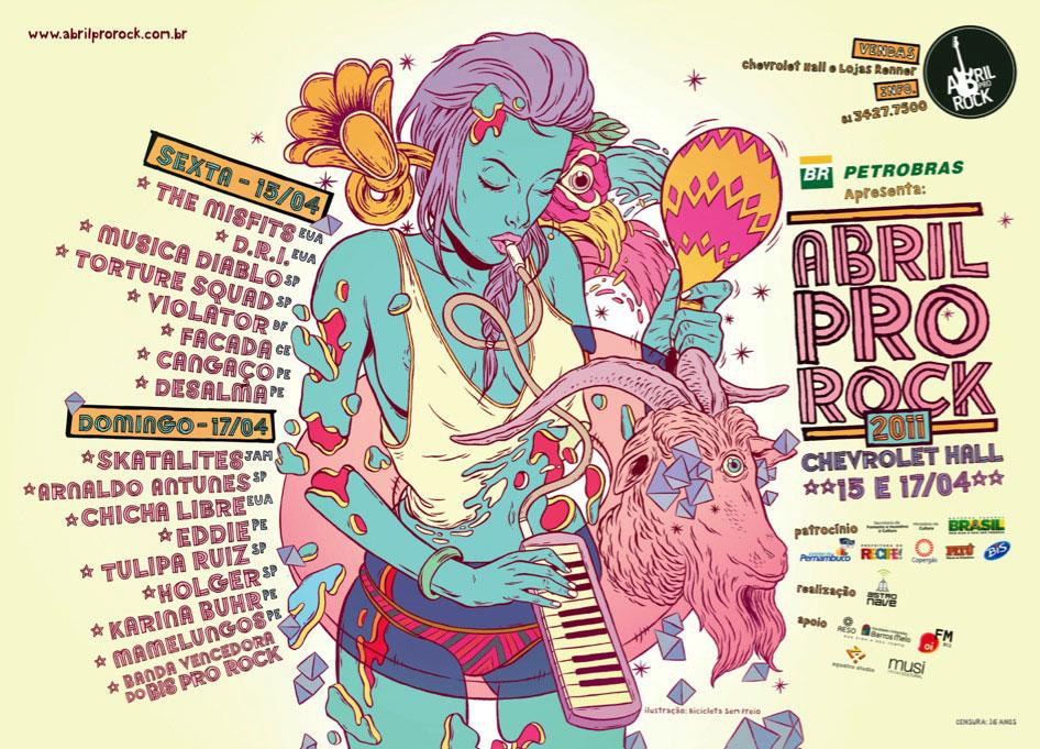 19º Abril Pro Rock movimenta o final de semana em Recife