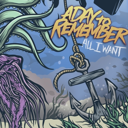 A Day To Remember - All I Want vinyl - 2011