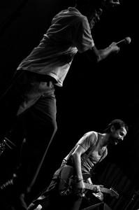 Erasto e Trummer da Eddie no Abril Pro Rock 2011