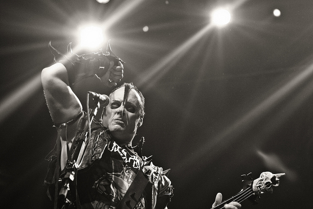 Jerry Only do Misfits no Abril Pro Rock 2011
