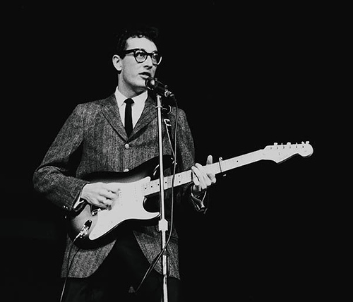 Lou Reed, Fiona Apple, Patti Smith, Paul McCartney e Julian Casablancas no Tributo a Buddy Holly