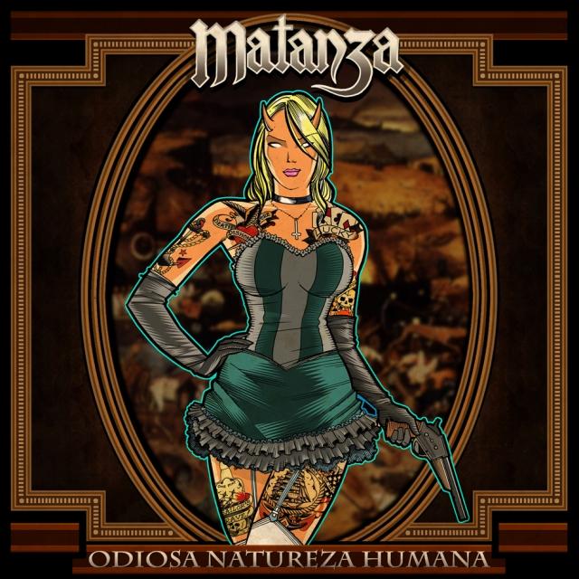 Matanza - Odiosa Natureza Humana - 2011 - capa