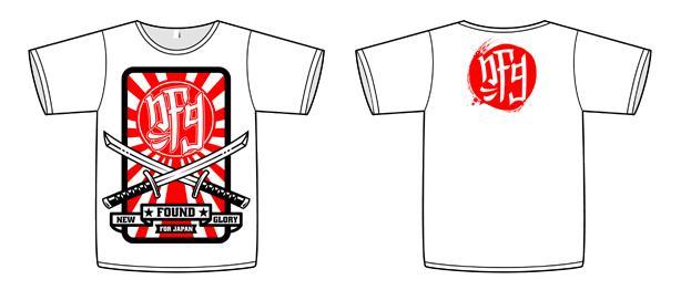 New Found Glory lança camiseta pelo Japão