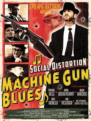 Social Distortion estreia Machine Gun Blues com transmisssão ao vivo pela internet
