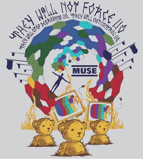 Camiseta do Muse