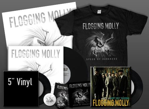 Pré-venda do novo disco do Flogging Molly