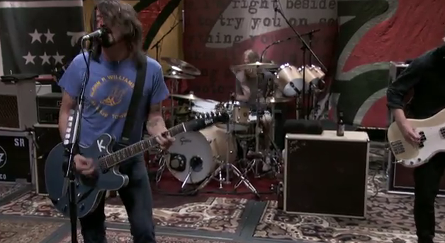 Foo Fighters no Studio 606