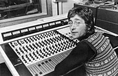 John Lennon no Ascot Sounds Studios