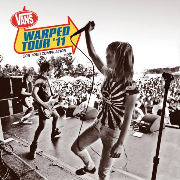 Confira a tracklisting da 2011 Warped Tour Compilation