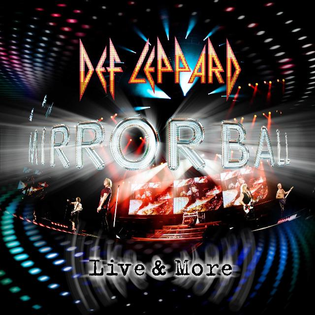 Def Leppard - Mirrorball Live and More - album - cover - 2011