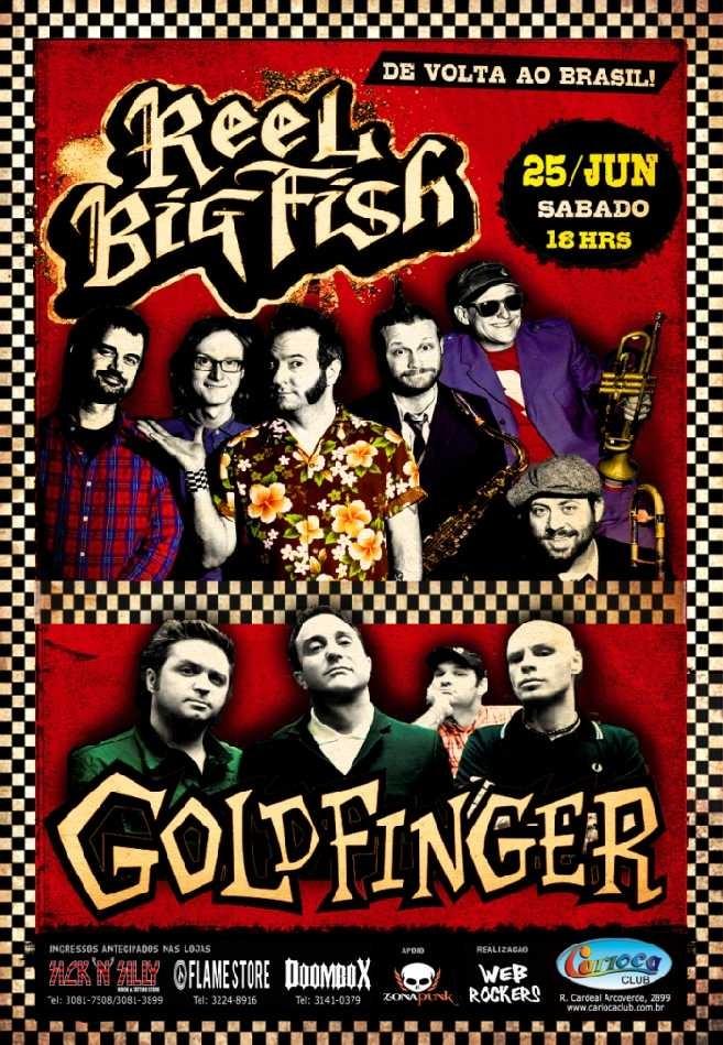 Goldfinger e Reel Big Fish em São-Paulo